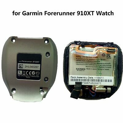 Back Case Cover Bottom W/Battery Repair Parts for Garmin Forerunner 910XT Watch