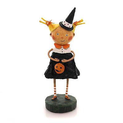 LORI MITCHELL ~ Adorable Dora ~ Halloween Trick Or Treat Figurine ~ Witch - Halloween Dora