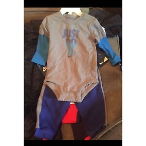 9/12 month Nike suits