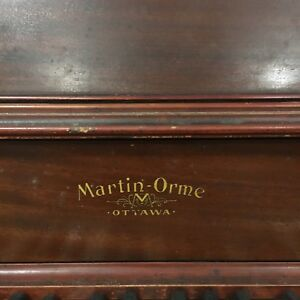 "Antique upright piano ""Martin-Orme"""