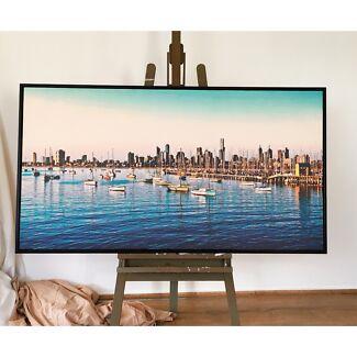 150*80 Melbourne Framed Large Canvas Art-Customisable.