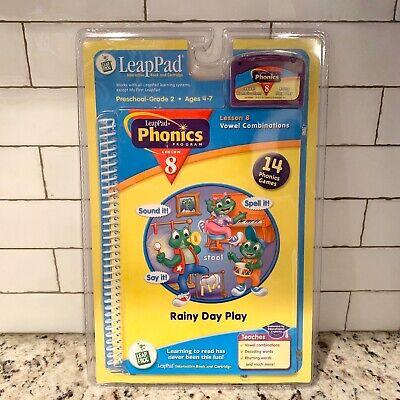 Leap Frog - Leap Pad Phonics Book & Cartridge