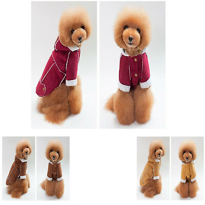 Dog Clothing Fashionable Lamb Wool Lovely Pet Puppy Vest Jacket Costume Apparel - Lamb Dog Costume