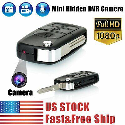 1080P HD Mini Car Key Hidden Spy Camera DVR Motion Detection Camcorder Cam (Cam Camera)