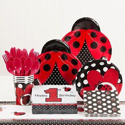 Ladybug Supplies (Ladybug Fancy 1st Birthday Party Supplies)