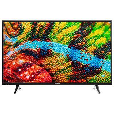 MEDION P14325 Fernseher 108cm/43  Zoll Full HD Smart TV Netflix DTS PVR CI+ A++