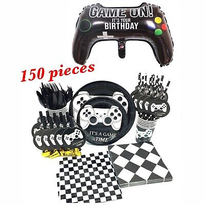 Video Game Party Decorations Supplies For Boys Kids Birthday Game Time](Birthday Supplies For Boys)