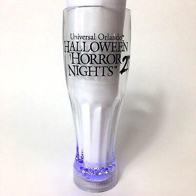 Universal Orlando Halloween Horror Nights Light Up 20oz Pilsner Cup 2017 HHN - Orlando Halloween 2017