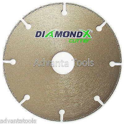 4.5 Metal Cutting Diamond Blade Cut-off Wheel - Type 1 For Angle Grinders