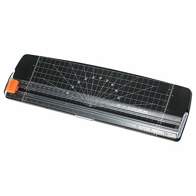 Portable Paper Cutter A4 Paper Trimmer 12 Photo Guillotine Craft Machine Y7p0