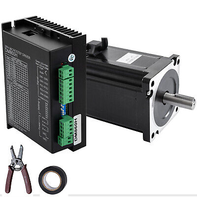 Stepper Motor Nema34hybrid Servo Drive Dm860h Kit 8.5nm Cnc