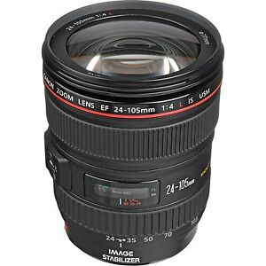Canon Lens EF 24-105mm f/4L IS USM RRP $1299 Sydney City Inner Sydney Preview