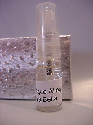 WOMENS GUERLAIN AQUA ALLEGORIA ANISIA BELLA Perfume 3 ML VIAL EDT ANISE JASMINE