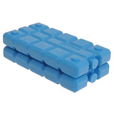 2 Stück Kühlakkus blau je 200 ml für Kühltasche Akk…  