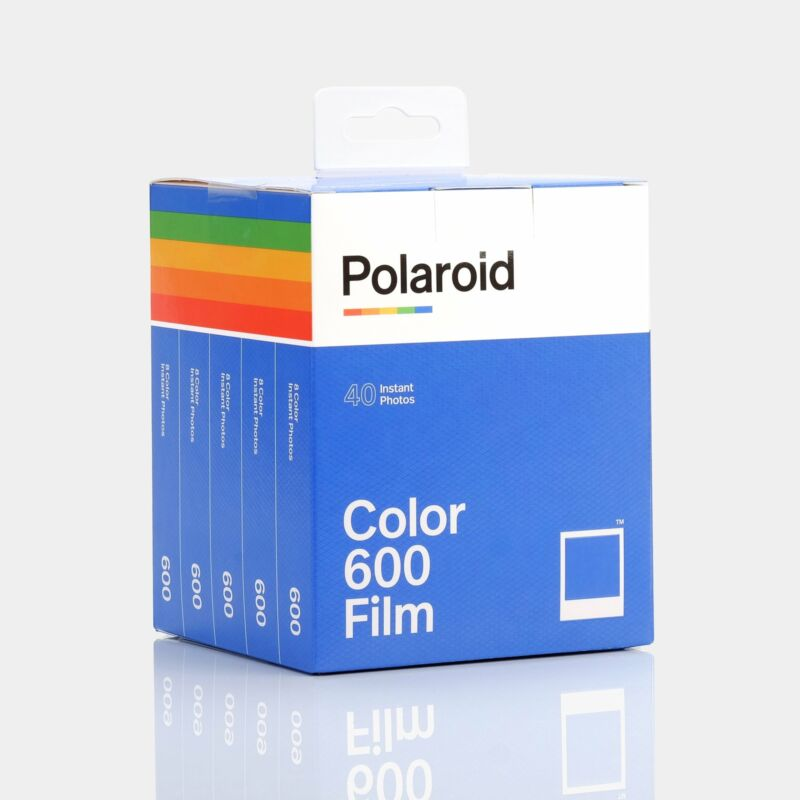 Polaroid 600 Color Instant Film Party Pack