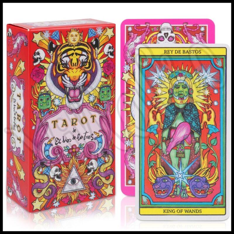 Beautiful Tarot Del Dios De Los Tres Tarot Deck Oracle Deck 78 Cards Tarot Cards