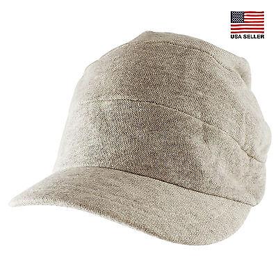 Morehats Soft Cotton Knit Slouchy Fit Beanie Baseball Newsboy Cap Casual Hat - Newsboy Beanie