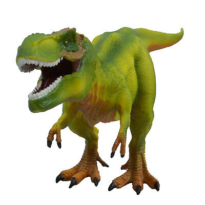 Large Tyrannosaurus Rex Solid Plastic Dinosaur Kids Toy Model Gift Green - Large Toy Dinosaurs