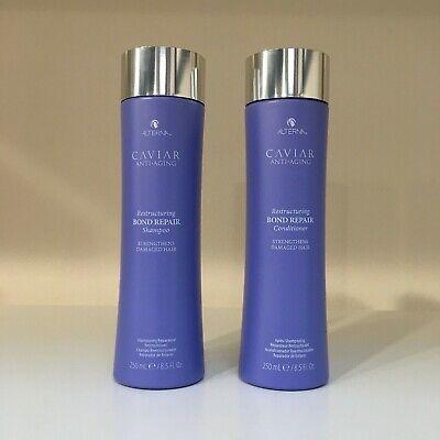 Alterna Caviar Anti Aging Shampoo (Alterna Caviar Anti-Aging BOND REPAIR Shampoo, Conditioner 8.5 oz ** YOU)