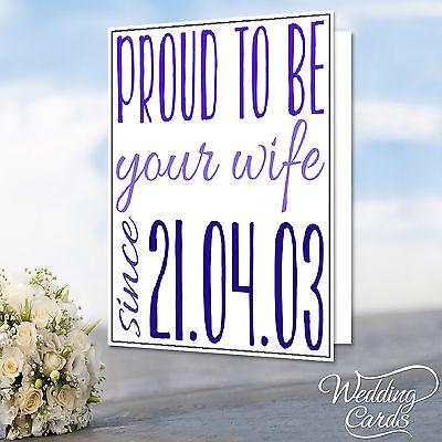 Anniversary Husband Wife Boyfriend Wedding Engagement Birthday Card Gift Idea
