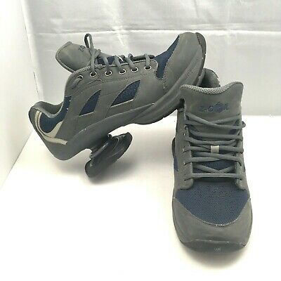 Z Coil Cruiser Dark Gray and Blue Spring Lace Up Comfort Shoes Mens Size 12