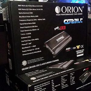 CLARION, ORION High Performance Car Audio Speakers & Amplifier
