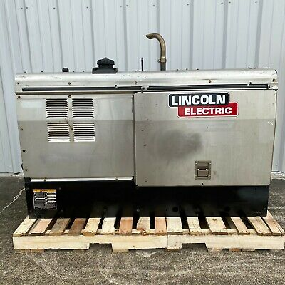 Lincoln Electric Vantage 500 Perkins Diesel Welder Stainless K2686-1-- 3240 Hrs