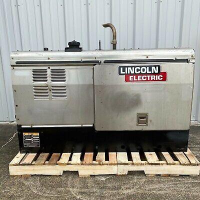 Lincoln Electric Vantage 500 Perkins Diesel Welder Stainless K2686-1-- 3240 Hrs