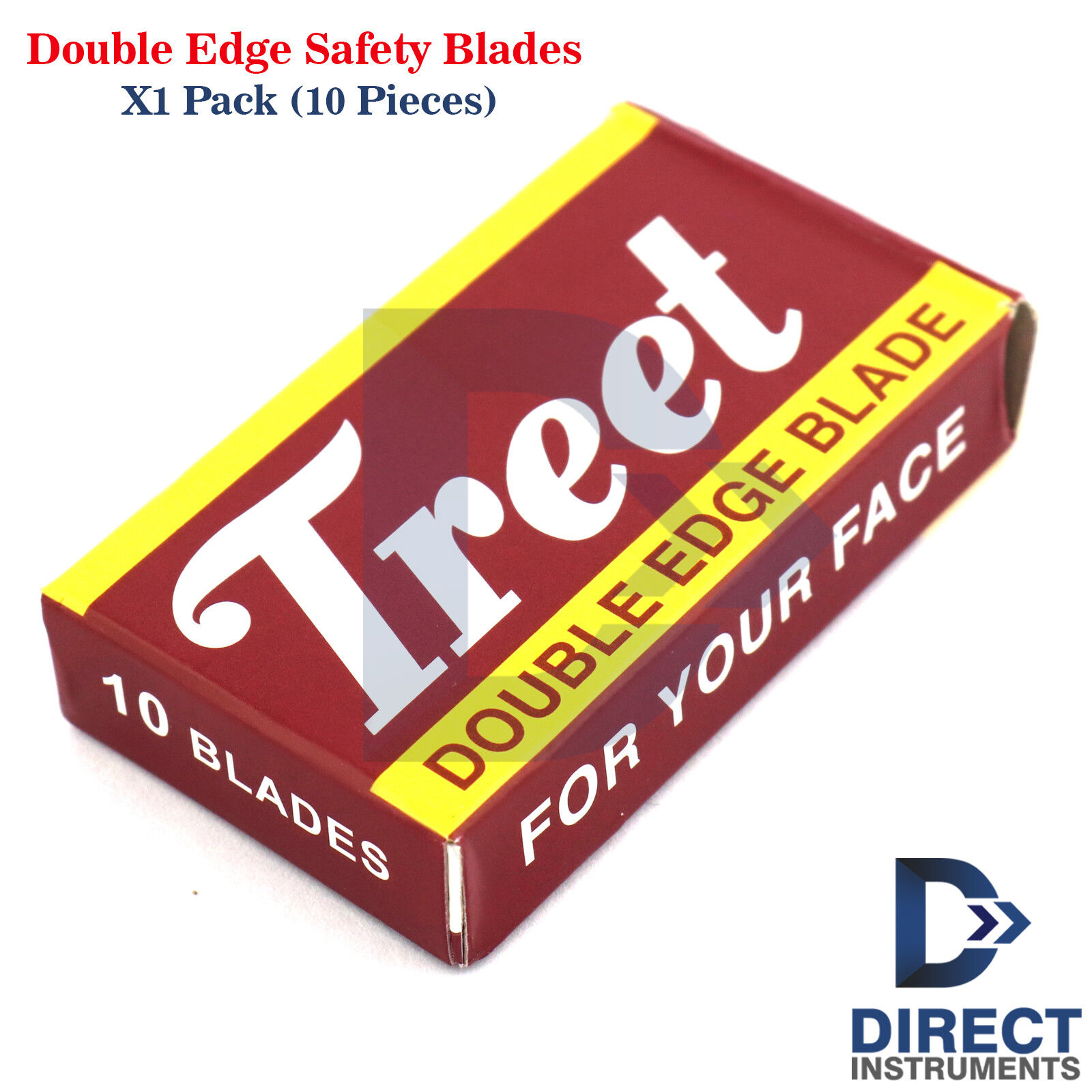 Double Edge Safety Razor Blades Pack-10PCs Shaving Hair Remo