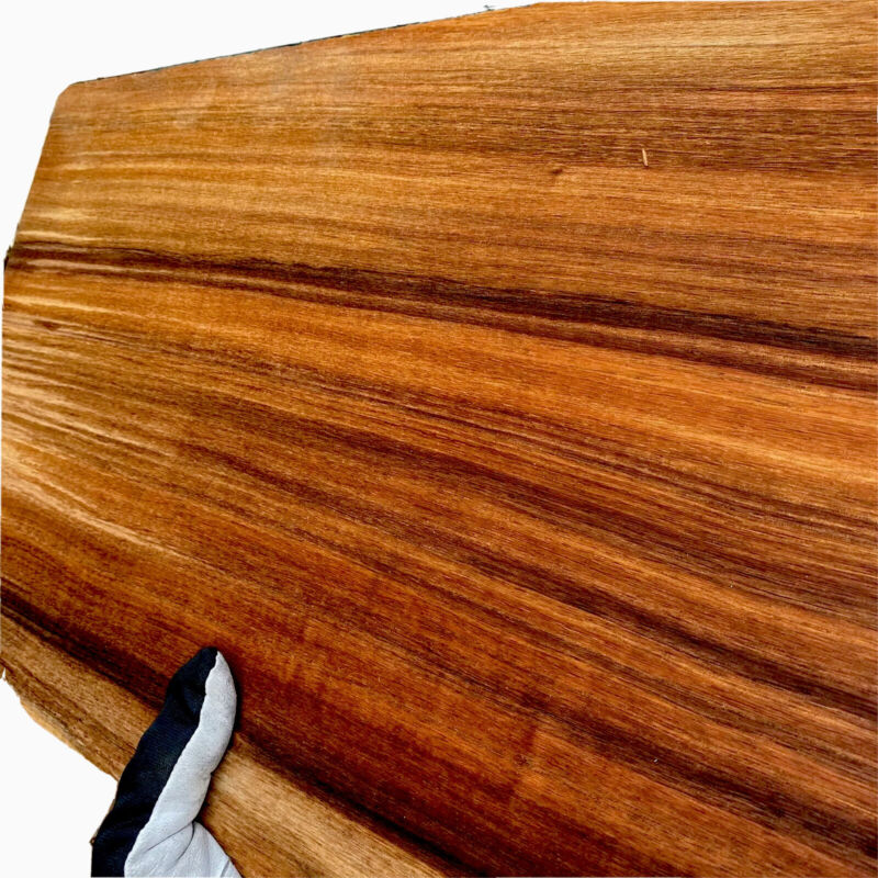 "QS KOA .4-.5"" x 12.75""x 20"" 1 Pc Hawaiian  🎸 Guitar One Piece Carve Top Thick"