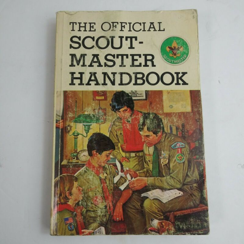 The Official Scout-Master Handbook 1981 Boy Scouts Of America