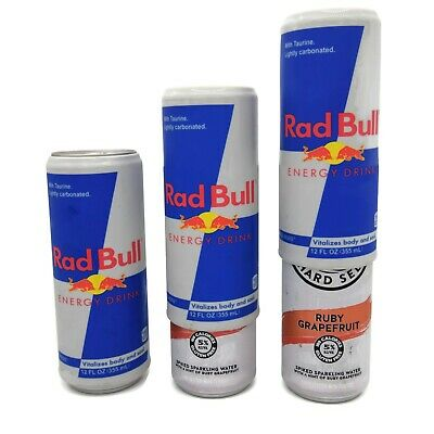 Silicone Beer Can Covers Hide A Beer (3 PACK) Rad Bull Hard Seltzer Cover Sleeve