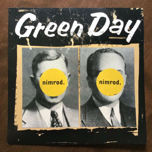 Green Day - Nimrod 12.5 x 12.5 Flat 2-sided Promo Poster - Very Good Plus