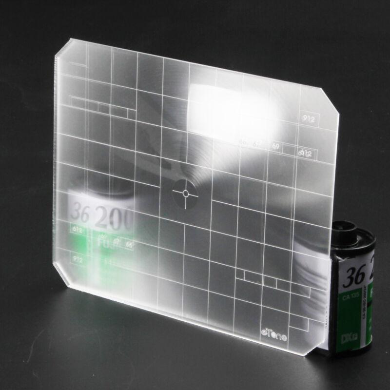 4x5 Ground Glass Fresnel Focusing Screen Ultra Bright Toyo Wista Horseman Linhof