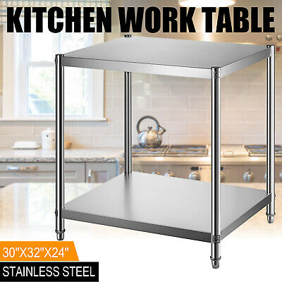 Commercial Stainless Steel 24 X 30 Nsf Commercial Kitchen Prep Work Table