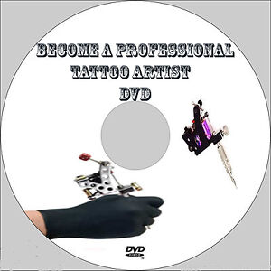 Learn how to tattoo like a pro dvd video training tutorial for How to tattoo dvd