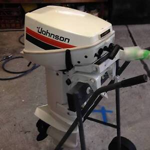 Johnson 15Hp Short Shaft 2 stroke outboard -1985 Full Recondition Menai Sutherland Area Preview