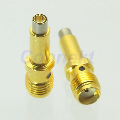 1pce Ms156 Plug Male To Sma Female Jack For Test Probe Rf Adapter Connector