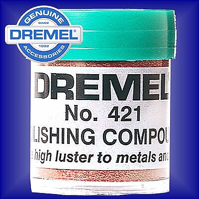 Dremel 421 Polishing Buffing Compound hobby multi tool rotary mop wheel paste