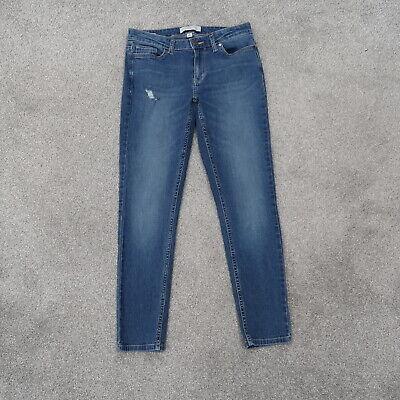 Calvin Klein Ankle Skinny Women's Size 6 (28x27) Blue Denim CK Jeans