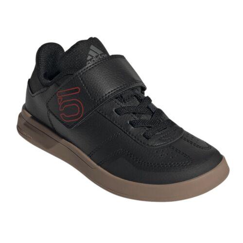 Five Ten Adidas Sleuth Dlx Kids Shoes Mtb Bmx Dh Cycling Clipless Flat BLACK