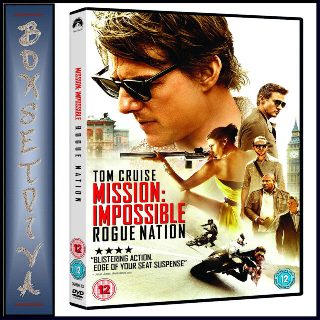 MISSION IMPOSSIBLE - ROGUE NATION *BRAND NEW DVD***