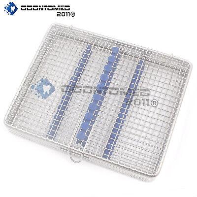 Dental Instrument Sterilization Cassette For 10pcs Stainless Mesh Tray Dn-374