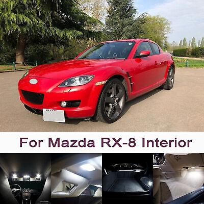 Mazda RX8 SE17 H7 501 55w Super White Xenon Low//LED Trade Side Light Bulbs Set