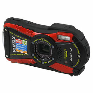 Pentax-Optio-WG-10-Waterproof-Digital-Camera-RED-Factory-Refurbished