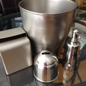 New 4-piece Bathroom Stainless Steel Accessory Set