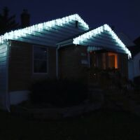 Authentic Eavestroughs - Christmas Lights Installs
