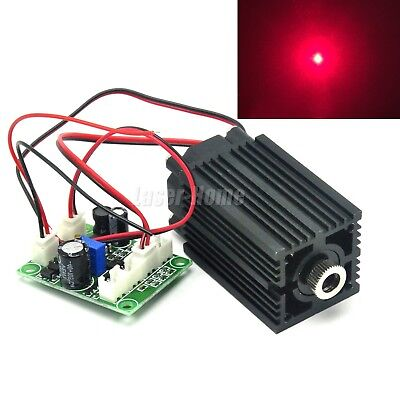635nm 638nm 300mw Red Focusable Dot Laser Module Multimode Diode Driver Ttl Fan