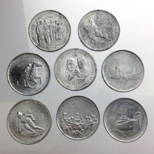 Great Canadian Moments Lot of 8 Tokens Expo 67 Montreal W691