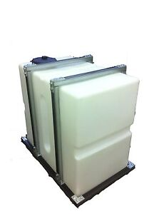 500l upright Tank Retaining Frame for window cleaning